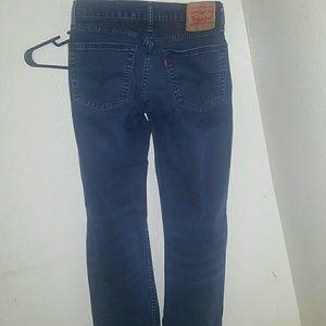 Mens levis jeans w30 L32